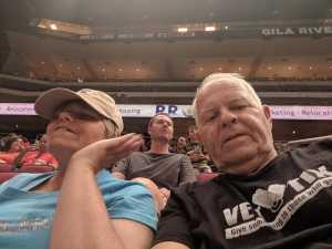 Leslie attended Arizona Rattlers V. Opponent TBD - IFL - 2019 Conference Championship **played at Gila River Arena on Jun 29th 2019 via VetTix