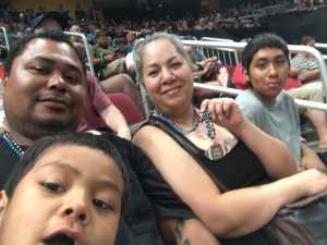Vanessa attended Arizona Rattlers V. Opponent TBD - IFL - 2019 Conference Championship **played at Gila River Arena on Jun 29th 2019 via VetTix