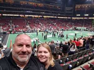 Donald attended Arizona Rattlers V. Opponent TBD - IFL - 2019 Conference Championship **played at Gila River Arena on Jun 29th 2019 via VetTix