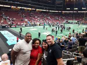 Raphael attended Arizona Rattlers V. Opponent TBD - IFL - 2019 Conference Championship **played at Gila River Arena on Jun 29th 2019 via VetTix