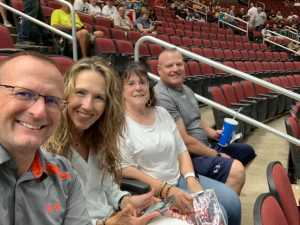 Stephen attended Arizona Rattlers V. Opponent TBD - IFL - 2019 Conference Championship **played at Gila River Arena on Jun 29th 2019 via VetTix