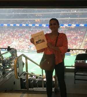 Denise attended Arizona Rattlers V. Opponent TBD - IFL - 2019 Conference Championship **played at Gila River Arena on Jun 29th 2019 via VetTix