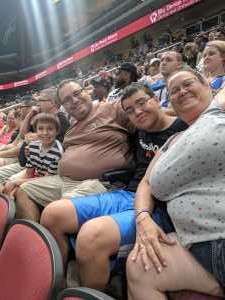 Sebastiano attended Arizona Rattlers V. Opponent TBD - IFL - 2019 Conference Championship **played at Gila River Arena on Jun 29th 2019 via VetTix