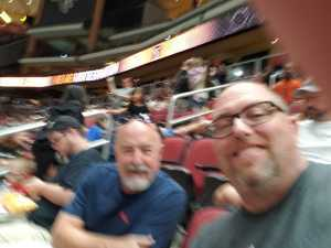 Randy attended Arizona Rattlers V. Opponent TBD - IFL - 2019 Conference Championship **played at Gila River Arena on Jun 29th 2019 via VetTix
