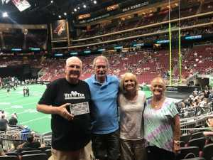 Jon attended Arizona Rattlers V. Opponent TBD - IFL - 2019 Conference Championship **played at Gila River Arena on Jun 29th 2019 via VetTix