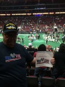 Terry  attended Arizona Rattlers V. Opponent TBD - IFL - 2019 Conference Championship **played at Gila River Arena on Jun 29th 2019 via VetTix