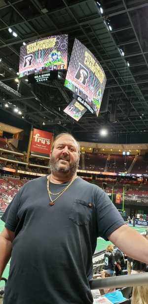 Joel attended Arizona Rattlers V. Opponent TBD - IFL - 2019 Conference Championship **played at Gila River Arena on Jun 29th 2019 via VetTix