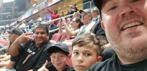 Mike attended Arizona Rattlers V. Opponent TBD - IFL - 2019 Conference Championship **played at Gila River Arena on Jun 29th 2019 via VetTix