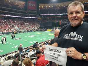 DJ attended Arizona Rattlers V. Opponent TBD - IFL - 2019 Conference Championship **played at Gila River Arena on Jun 29th 2019 via VetTix