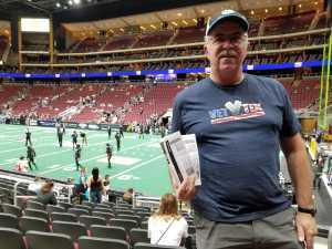 John V attended Arizona Rattlers V. Opponent TBD - IFL - 2019 Conference Championship **played at Gila River Arena on Jun 29th 2019 via VetTix