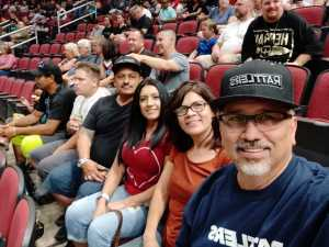 Jose attended Arizona Rattlers V. Opponent TBD - IFL - 2019 Conference Championship **played at Gila River Arena on Jun 29th 2019 via VetTix
