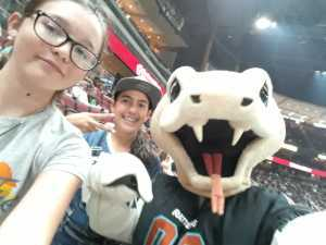 Brian attended Arizona Rattlers V. Opponent TBD - IFL - 2019 Conference Championship **played at Gila River Arena on Jun 29th 2019 via VetTix