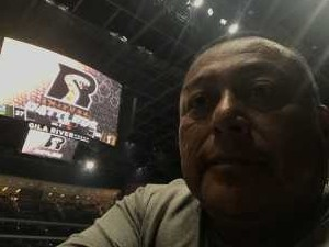 anderson attended Arizona Rattlers V. Opponent TBD - IFL - 2019 Conference Championship **played at Gila River Arena on Jun 29th 2019 via VetTix