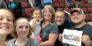 Roger attended Arizona Rattlers V. Opponent TBD - IFL - 2019 Conference Championship **played at Gila River Arena on Jun 29th 2019 via VetTix