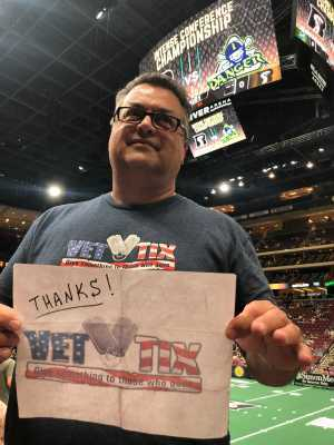 Click To Read More Feedback from Arizona Rattlers V. Opponent TBD - IFL - 2019 Conference Championship **played at Gila River Arena