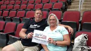 Patrick attended Arizona Rattlers V. Opponent TBD - IFL - 2019 Conference Championship **played at Gila River Arena on Jun 29th 2019 via VetTix