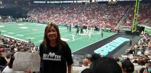 Ronald attended Arizona Rattlers V. Opponent TBD - IFL - 2019 Conference Championship **played at Gila River Arena on Jun 29th 2019 via VetTix