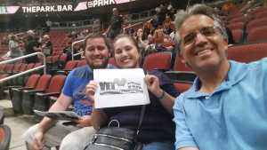 Juan  attended Arizona Rattlers V. Opponent TBD - IFL - 2019 Conference Championship **played at Gila River Arena on Jun 29th 2019 via VetTix