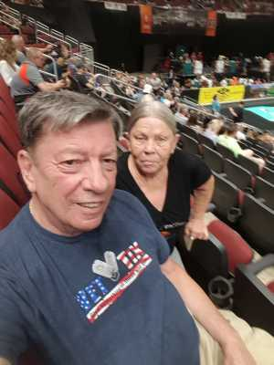Charles attended Arizona Rattlers V. Opponent TBD - IFL - 2019 Conference Championship **played at Gila River Arena on Jun 29th 2019 via VetTix