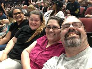 Glen attended Arizona Rattlers V. Opponent TBD - IFL - 2019 Conference Championship **played at Gila River Arena on Jun 29th 2019 via VetTix