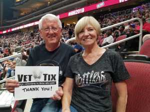 Robert attended Arizona Rattlers V. Opponent TBD - IFL - 2019 Conference Championship **played at Gila River Arena on Jun 29th 2019 via VetTix