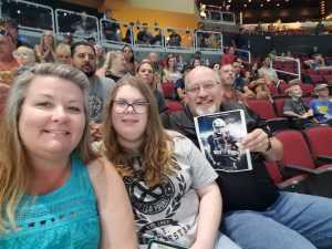Christopher attended Arizona Rattlers V. Opponent TBD - IFL - 2019 Conference Championship **played at Gila River Arena on Jun 29th 2019 via VetTix