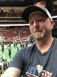 Todd attended Arizona Rattlers V. Opponent TBD - IFL - 2019 Conference Championship **played at Gila River Arena on Jun 29th 2019 via VetTix