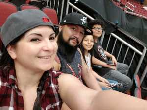 miguel attended Arizona Rattlers V. Opponent TBD - IFL - 2019 Conference Championship **played at Gila River Arena on Jun 29th 2019 via VetTix