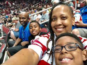 Tay  attended Arizona Rattlers V. Opponent TBD - IFL - 2019 Conference Championship **played at Gila River Arena on Jun 29th 2019 via VetTix
