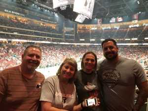 Linda attended Arizona Rattlers V. Opponent TBD - IFL - 2019 Conference Championship **played at Gila River Arena on Jun 29th 2019 via VetTix