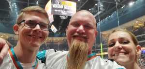James attended Arizona Rattlers V. Opponent TBD - IFL - 2019 Conference Championship **played at Gila River Arena on Jun 29th 2019 via VetTix