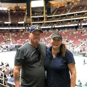 Delman attended Arizona Rattlers V. Opponent TBD - IFL - 2019 Conference Championship **played at Gila River Arena on Jun 29th 2019 via VetTix