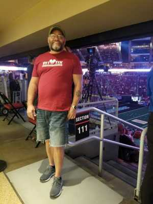 Ramon attended Arizona Rattlers V. Opponent TBD - IFL - 2019 Conference Championship **played at Gila River Arena on Jun 29th 2019 via VetTix