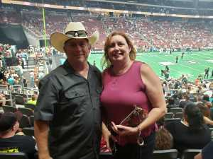 Douglas attended Arizona Rattlers V. Opponent TBD - IFL - 2019 Conference Championship **played at Gila River Arena on Jun 29th 2019 via VetTix