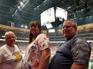 Peggy attended Arizona Rattlers V. Opponent TBD - IFL - 2019 Conference Championship **played at Gila River Arena on Jun 29th 2019 via VetTix