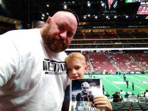 Dustin attended Arizona Rattlers V. Opponent TBD - IFL - 2019 Conference Championship **played at Gila River Arena on Jun 29th 2019 via VetTix