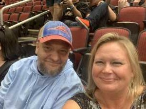Stacy attended Arizona Rattlers V. Opponent TBD - IFL - 2019 Conference Championship **played at Gila River Arena on Jun 29th 2019 via VetTix