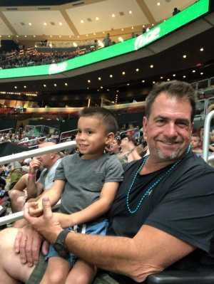 Jeff attended Arizona Rattlers V. Opponent TBD - IFL - 2019 Conference Championship **played at Gila River Arena on Jun 29th 2019 via VetTix