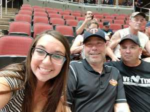 Thomas Lippert attended Arizona Rattlers V. Opponent TBD - IFL - 2019 Conference Championship **played at Gila River Arena on Jun 29th 2019 via VetTix