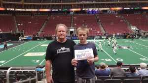 Bruce attended Arizona Rattlers V. Opponent TBD - IFL - 2019 Conference Championship **played at Gila River Arena on Jun 29th 2019 via VetTix