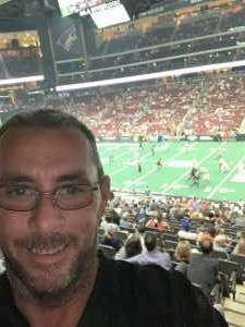 Jeremy attended Arizona Rattlers V. Opponent TBD - IFL - 2019 Conference Championship **played at Gila River Arena on Jun 29th 2019 via VetTix