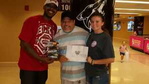 carlos attended Arizona Rattlers V. Opponent TBD - IFL - 2019 Conference Championship **played at Gila River Arena on Jun 29th 2019 via VetTix