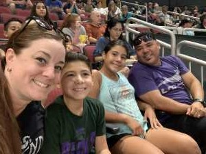 The Anaya's attended Arizona Rattlers V. Opponent TBD - IFL - 2019 Conference Championship **played at Gila River Arena on Jun 29th 2019 via VetTix