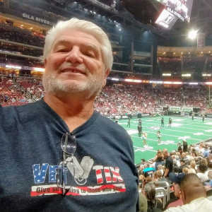 Alan attended Arizona Rattlers V. Opponent TBD - IFL - 2019 Conference Championship **played at Gila River Arena on Jun 29th 2019 via VetTix