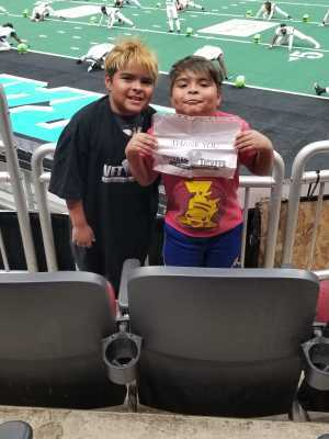 Lorenzo attended Arizona Rattlers V. Opponent TBD - IFL - 2019 Conference Championship **played at Gila River Arena on Jun 29th 2019 via VetTix