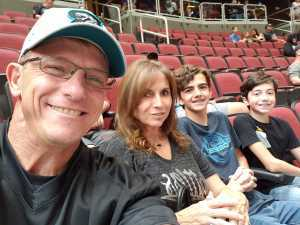 William attended Arizona Rattlers V. Opponent TBD - IFL - 2019 Conference Championship **played at Gila River Arena on Jun 29th 2019 via VetTix