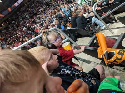 Thoms family! attended Arizona Rattlers V. Opponent TBD - IFL - 2019 Conference Championship **played at Gila River Arena on Jun 29th 2019 via VetTix
