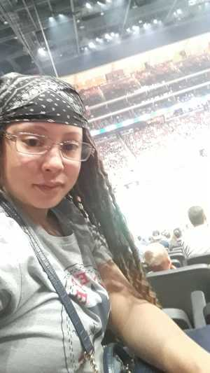 Christina attended Arizona Rattlers V. Opponent TBD - IFL - 2019 Conference Championship **played at Gila River Arena on Jun 29th 2019 via VetTix