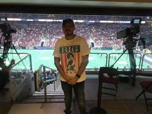 jesse attended Arizona Rattlers V. Opponent TBD - IFL - 2019 Conference Championship **played at Gila River Arena on Jun 29th 2019 via VetTix