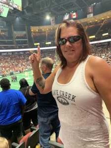 Rebecca attended Arizona Rattlers V. Opponent TBD - IFL - 2019 Conference Championship **played at Gila River Arena on Jun 29th 2019 via VetTix